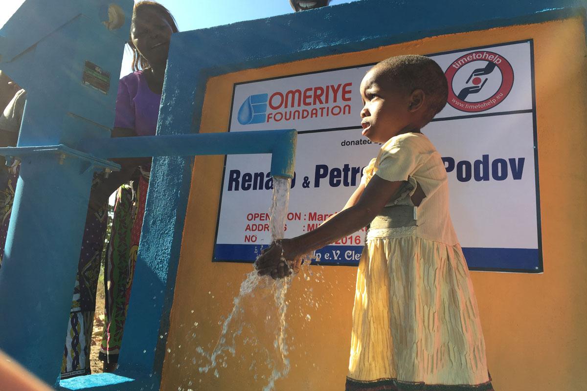 Sauberes Wasser ist ein Grundrecht.