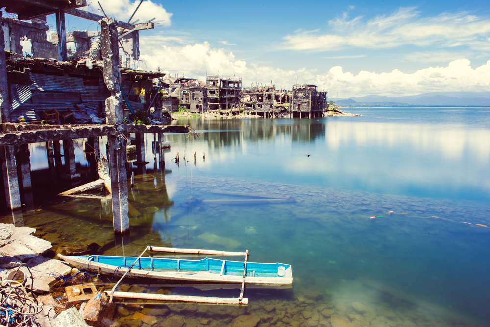 Die Inselstadt Marawi wurde zerstört.