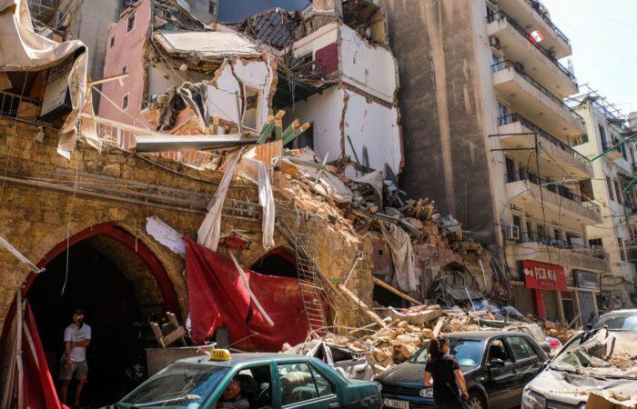 Libanon Explosion Spenden