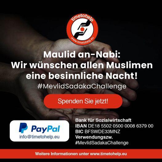 SadakaChallenge: Spenden & Helfen weltweit.