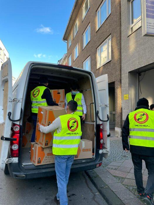 Spendenaktion für Geflüchtete in Griechenland