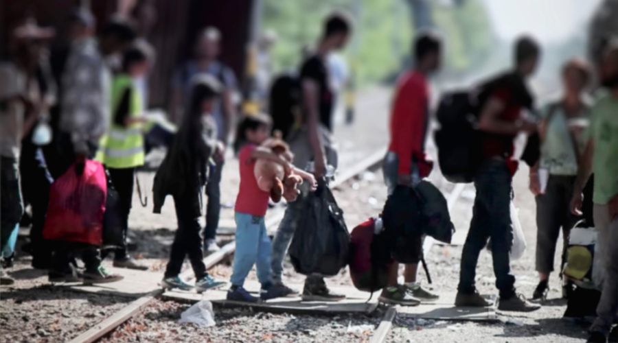 Flüchtlinge Kinder